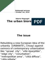 Edimburgo the Urban Bioregion Draft