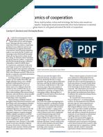The Neuroeconomics of Cooperation