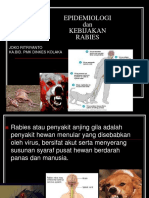 Epidemiologi Rdan Kebijakan Rabies