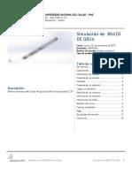 BRAZO de GRUA-Análisis Estático 1-1