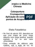Congresso VI Cromoterapia e a Medicina Chinesa Paulo Jyo