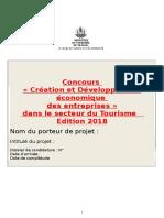 Formulaire_inscription Concours Apt 2018