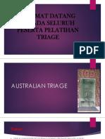 Australian Triage Ppt