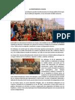 La Independencia chilena.docx