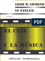 Adorno, T. W.  - El cine y la música.pdf