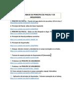 Guia de Trabajo en You Tube de Principio de Pascal y Arquimides