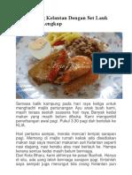 Nasi Dagang Kelantan Sedap