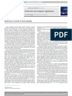 12Special Issue on Security in Cloud Computing
