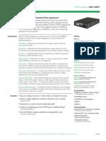 VBrick Datasheet MPEG-Appliance