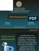 Surfactantes -emulsiones