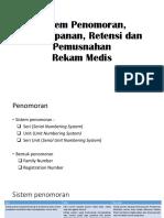 3. 18 10 2017 Sistem Penomoran, Penyimpanan, Retensi dan Pemusnahan.pptx