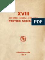 XVIII Congreso General Ordinario Partido Socialista de Chile