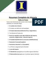 Resumen Completo de Introduccion a La Historia 2015