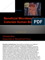 Unit 4 - Beneficial Microbes Colonizing Human Body