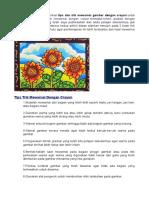 Tips Dan Trik Mewarnai Dengan Crayon.pdf