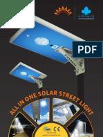 AIO Solar Street Light