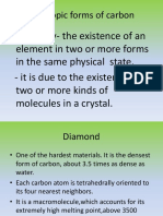 Forms of Carbon