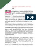 Bases Filosóficas, Legales y Organizativas Del Sistema Educativo Mexicano