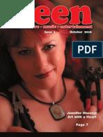 (new)seen magazine Volume 1, Number 1