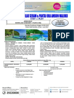 3 Hari Eksotis Pulau Seram Pantai Ora Ambon Maluku