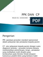 Presentasi PPK Dan CP SIAP