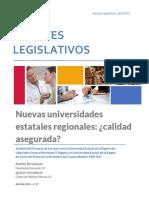 Observatorio Legislativo Universidades Estatales Regionales
