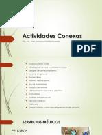 Actividades conexas