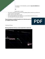 Swan Task Common Errors