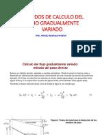 Metodos de Calculo Del Flujo Gradualmente Variado