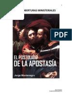 Las Coberturas Ministeriales APOSTOLADO de APOSTASIA cap. II