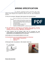 Cabling Specification