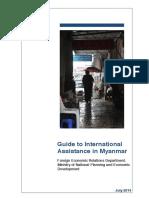 July 2014 - Guide to International Assistance in Myanmar [en]