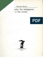 MIMESIS las imágenes y las cosas -Valeriano Bozal.pdf