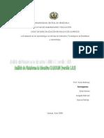 Análisis de plataforma educativaCLAROLINE