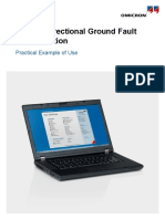Example GroundFault SteadyState