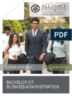 BBA Course Catalogue July 2015