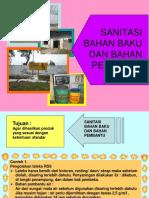 Anzdoc.com Sanitasi Bahan Baku Dan Bahan Pembantu