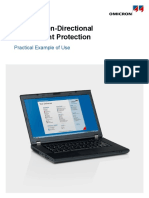 Example Overcurrent OvercurrentNonDirectional