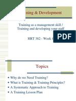 TrainingDevelopment ppt