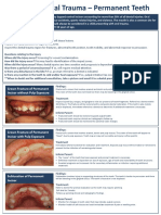 Dental Trauma Flip Chart Permanent