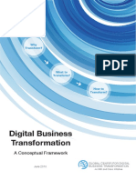 Digital Business Transformation a Conceptual Framework