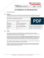 Guidance on Overhead Electrical Line Clearances