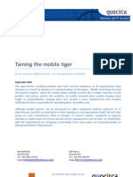 Taming the mobile tiger