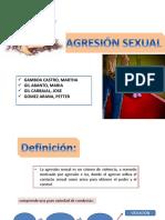 AGRESIÓN SEXUAL - Seminario Dr Valderrama