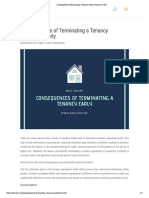 Consequences of Terminating a Tenancy Early _ Donovan & Ho