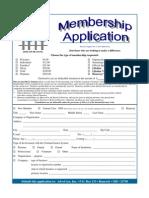 AdvoCare Inc  Membership Application