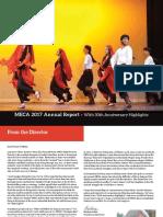 MECA Annual Report 2017