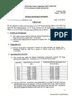 VII Wage Revision Circular