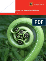 Behaviour Analysis Handbook of University of Waikato, NZ