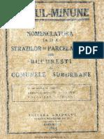 1935 - Ghidul Bucurestilor - Alexandru Cicio Pop
